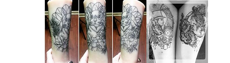 Custom Leg Tattoo Designs Drawings Best Tattoo Ideas