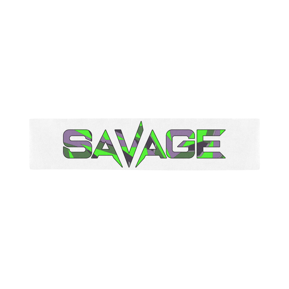 Savage Camo Logo Sports Scarf Savage Tattoo Ogden Ut