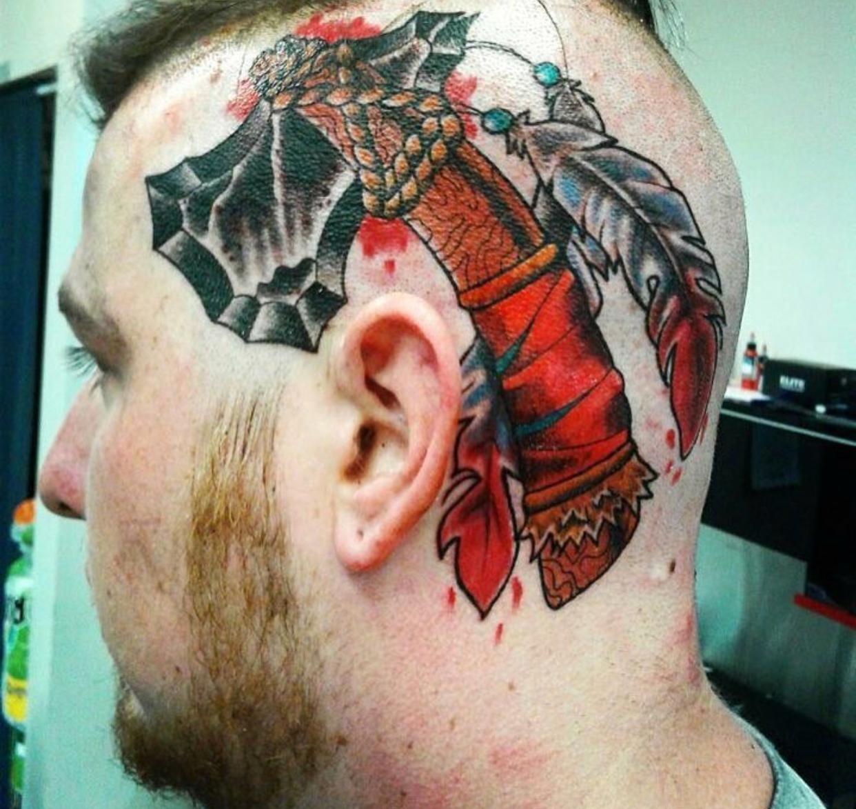 Nik at Savage Tattoo in Ogden, Utah