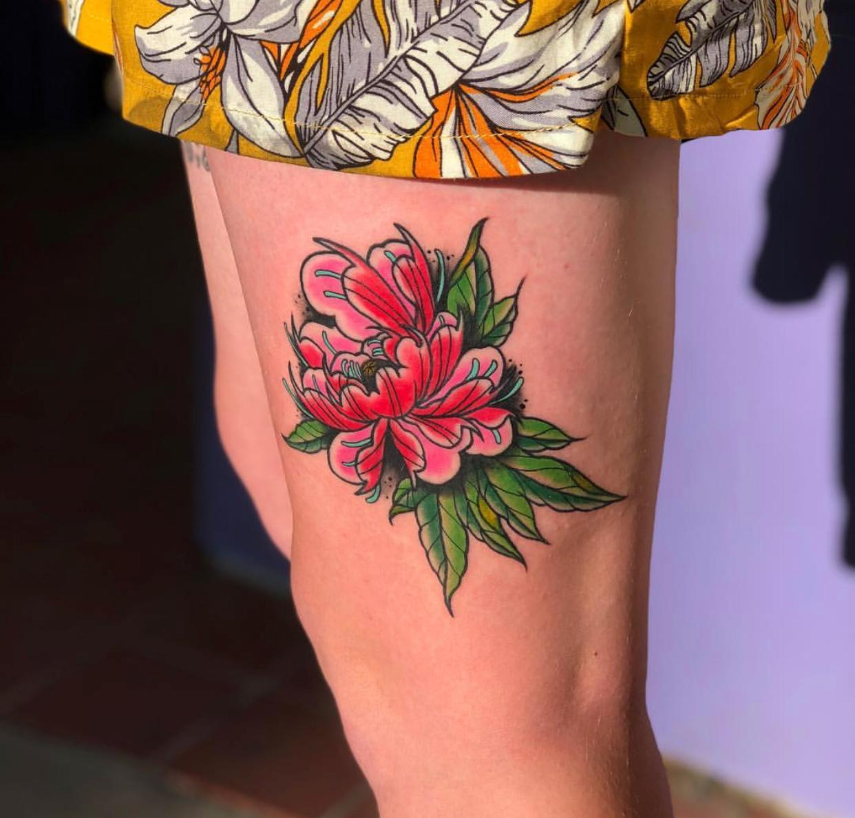 Ogden, Utah tattoo by Nik at Savage Tattoo