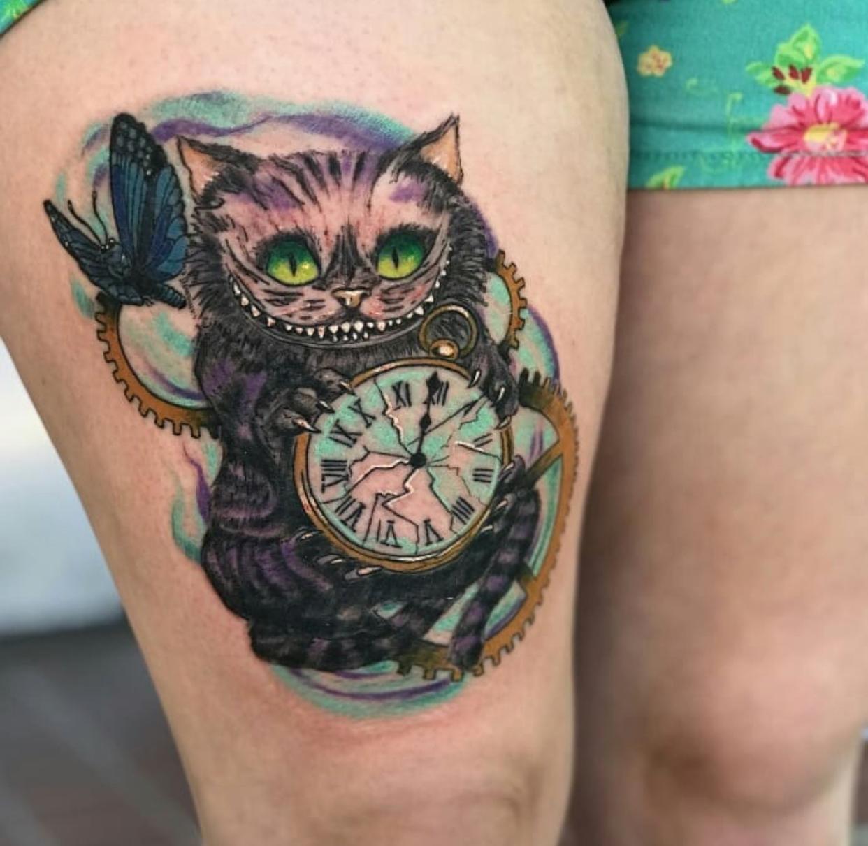 Jeramie at Savage Tattoo in Ogden, Utah