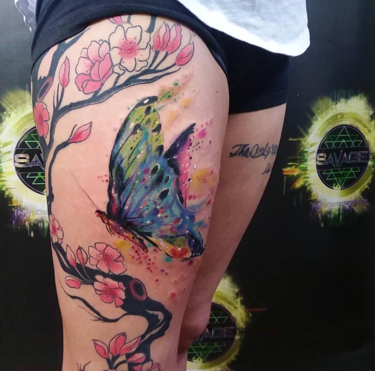 Tattoo by Jeramie at Savage Tattoo
